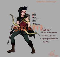 AU Robin by shock777