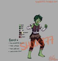 AU Beastboy by shock777