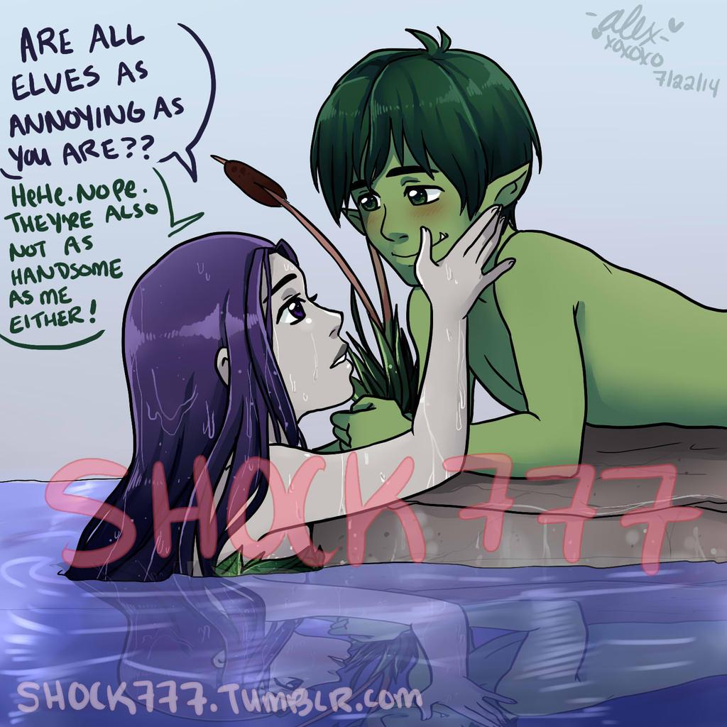 Annoying Elf by shock777