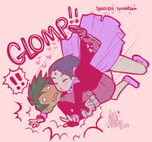 Passion Glomp by shock777