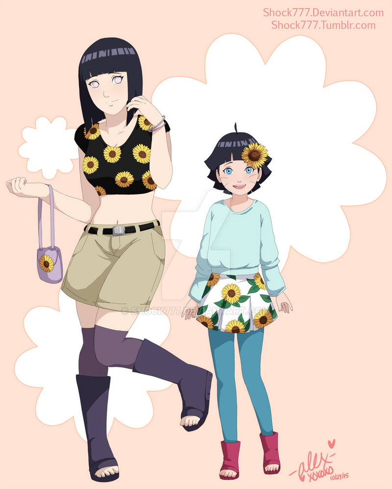 Naruto's Sunflowers by shock777