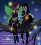A Fairy and a Robin