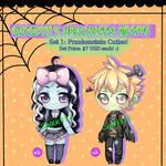 Halloween Adopts-Set 1 OPEN