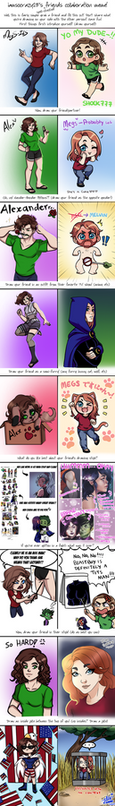Friend Meme Collab with Megs-ILS
