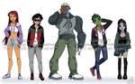 Teen Titans Casual