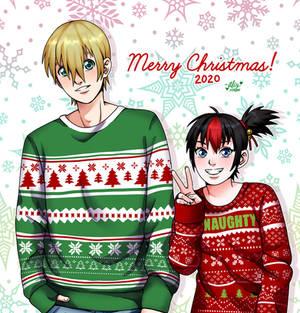 BB and Eric- Merry Christmas 2020