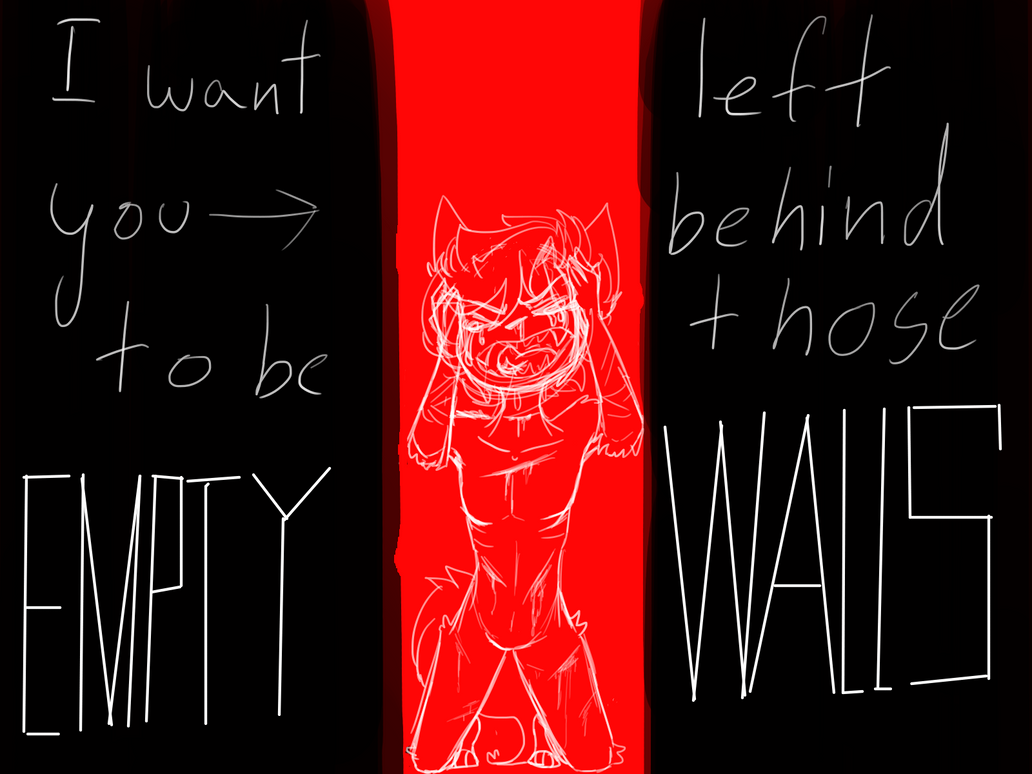 I left behind those EMPTY WALLS I (V) by alice765