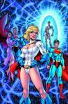 Powergirl-Infinite Crisis 2 JL