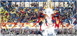 Wonder Woman-Supergirl: Crisis on Infiinte Earths