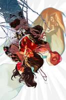 Spider-Women, Silk and Spider-Gwen 1 by battle810