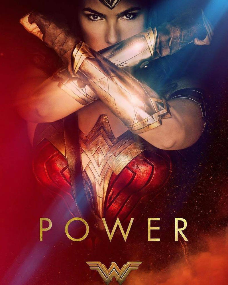 Wonder Woman Movie Poster Power by battle810