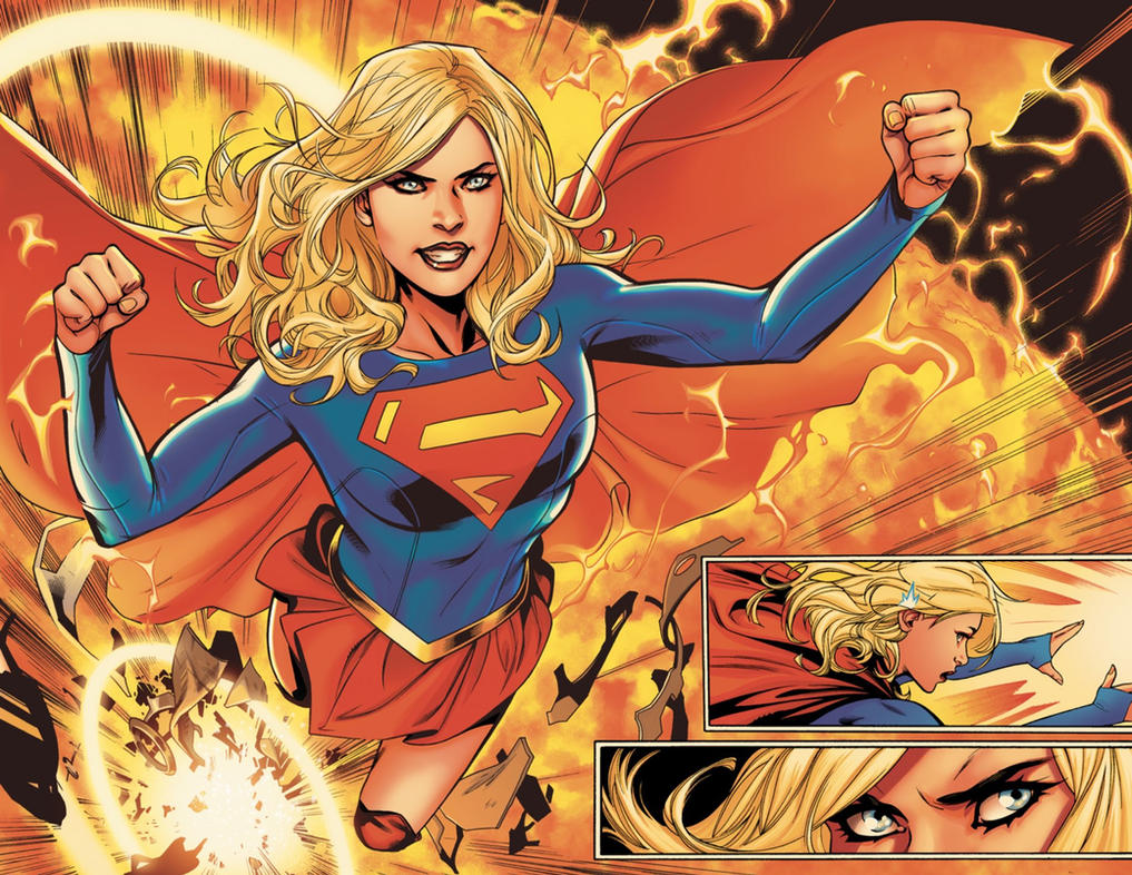 Supergirl Rebirth by battle810