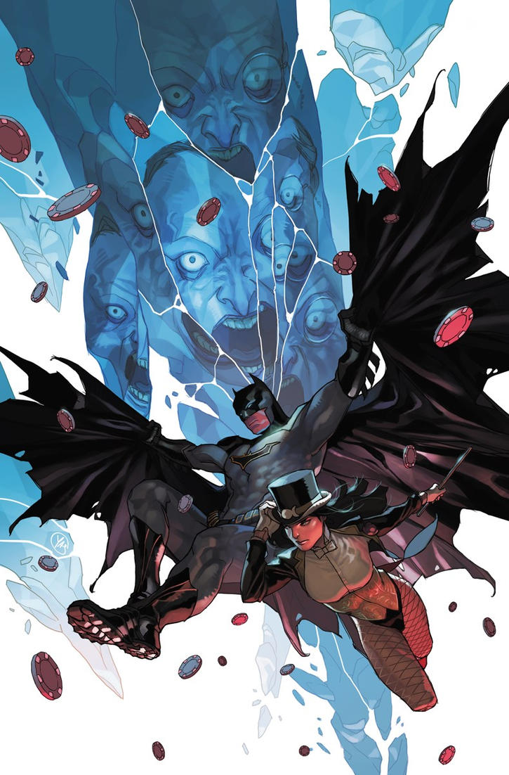 Batman and Zatanna by battle810