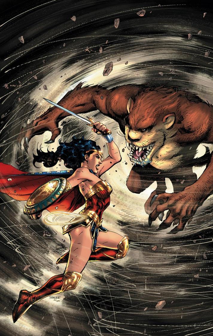 WONDER WOMAN/TASMANIAN DEVIL by battle810