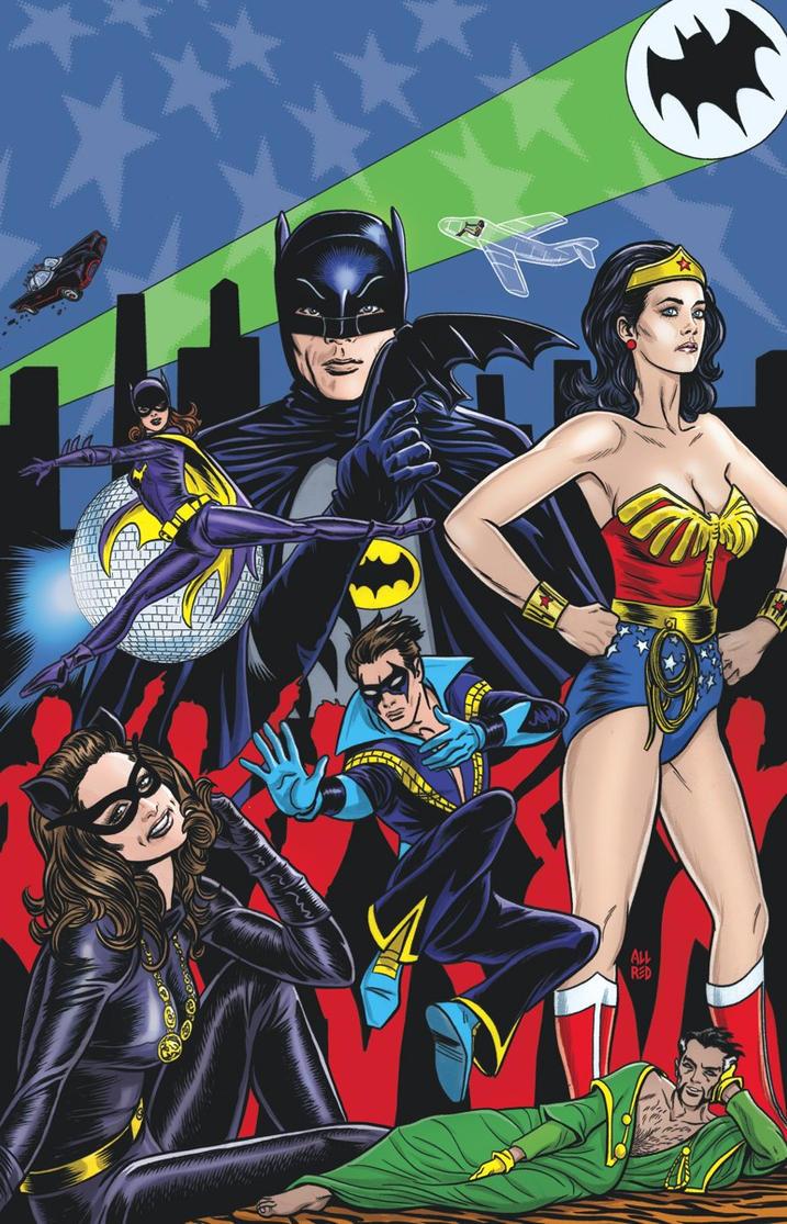 Batman 66/Wonder Woman 77 by battle810