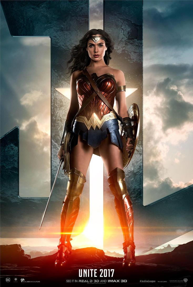 Wonder Woman Justice League Movie by battle810