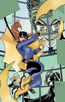 BATGIRL AND THE BIRDS OF PREY #19 by battle810