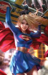 Supergirl 34 variant by battle810