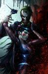 Joker and his new sidekick, Punchline