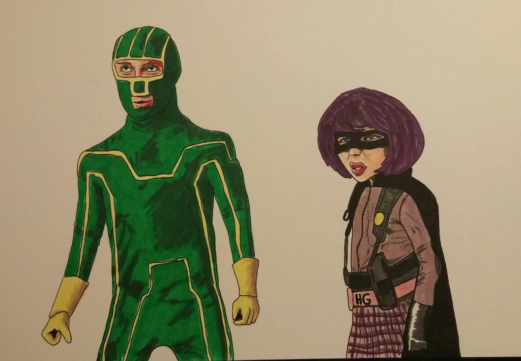Kickass  Hit girl  by ScottHow