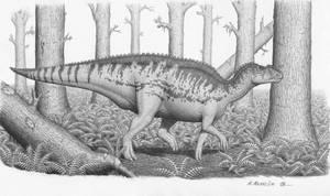 Kritosaurus australis by BrokenMachine86