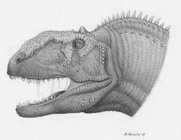 Majungasaurus crenatissimus by BrokenMachine86