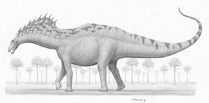 Amargasaurus cazaui by BrokenMachine86