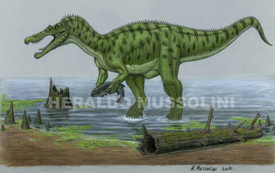 Baryonyx walkeri by BrokenMachine86