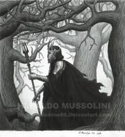 Sauron the Necromancer by BrokenMachine86