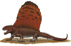 Dimetrodon by BrokenMachine86