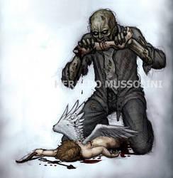 The Walking Dead - Valentine's day by BrokenMachine86
