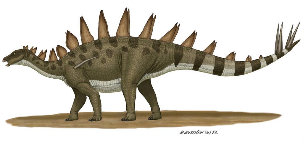 Tuojiangosaurus by BrokenMachine86