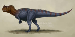 Ceratosaurus by BrokenMachine86