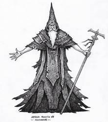 Wizard - Inktober 05/2018