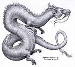 Eastern dragon - Inktober 20/2018
