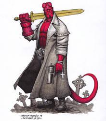 Hellboy - Inktober 27/2018