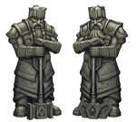 Dwarven argonaths by BrokenMachine86