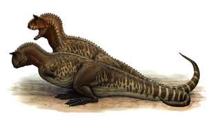 Carnotaurus sastrei by BrokenMachine86