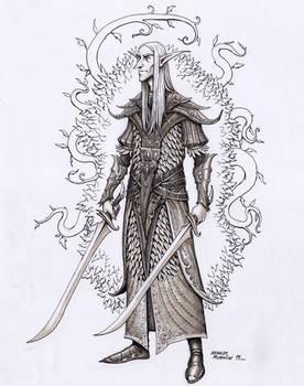 Wood elf warrior