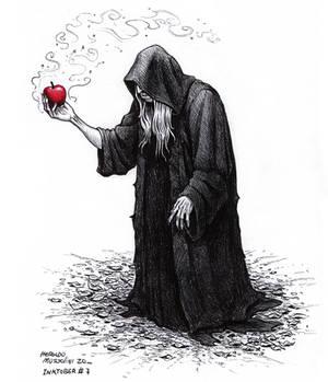Witch - Inktober 7 2020