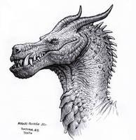 Dragon - Inktober 8  2020