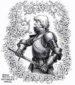 Armor - Inktober 14 2020