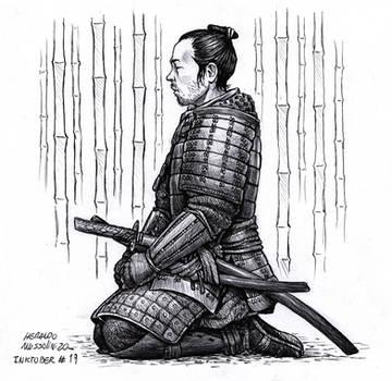 Samurai - Inktober 19 2020