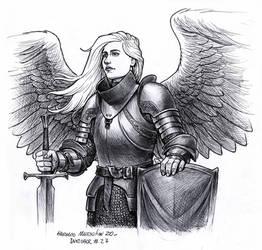 Angel - Inktober 27 2020