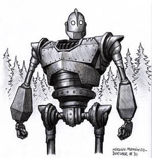 The Iron Giant - Inktober 30 2020