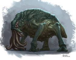 Lovecraftian creature
