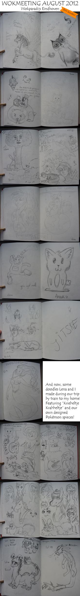 Wokmeeting August 2012 Doodles! by Kiruel