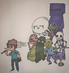 MINECRAFT by CartoonSlap