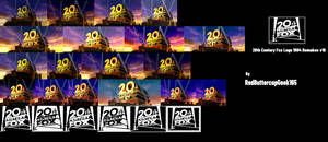 20th Century Fox Logo 1994-2010,2013 Models v16