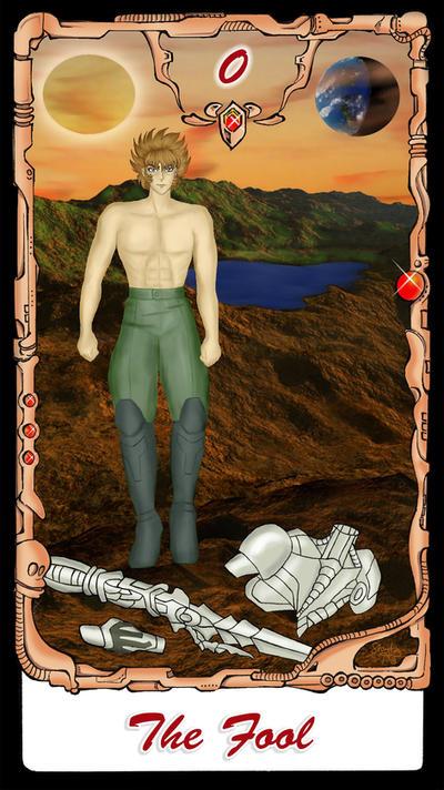 B'tX Tarot - The Fool by stayka